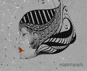 portrait zentangle artisticselfie polygon emotion