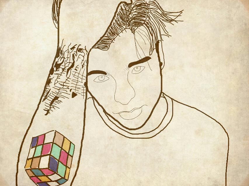 #drawing #draw #boy #beautiful #villalobos