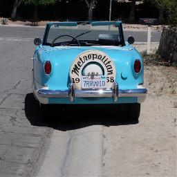 badparking classiccar metropolitan retro vibrant