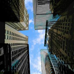 illusions skyline cityscape ny nyc
