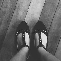 shoe shoefie blackandwhite