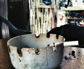 smoke cigarette vintage bokeh photography