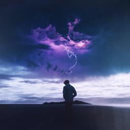 storm thunderstorm lightning weather people