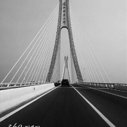 dynamictension blackandwhite bridge sky architecture
