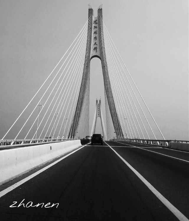#DynamicTension #blackandwhite#bridge#sky  #architecture #lines #road