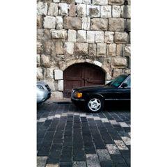old back door castle ancient