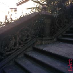 church steps architecture catalonia spain