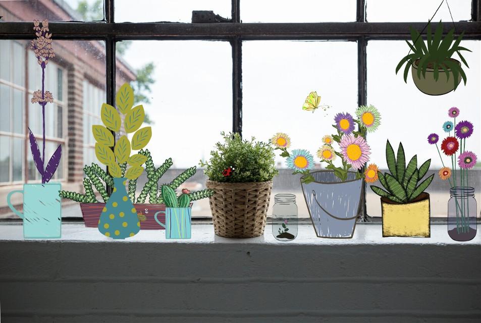#FreeToEdit  I love plants 💜🌿🌵🌴🌷  #plants #love #photography #draw