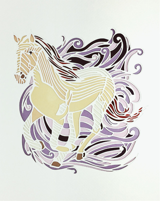 #horse #horses #pony #love #mare #beautiful #cute #happy #summer #papercut #papercutting #paper #art #paperart #handmade #illustration #handcut #papercraft #craft #design #paperartist #artist #artoninstagram #artwork #instaart #切り絵 #cutout #papercuts #silhouette #diy