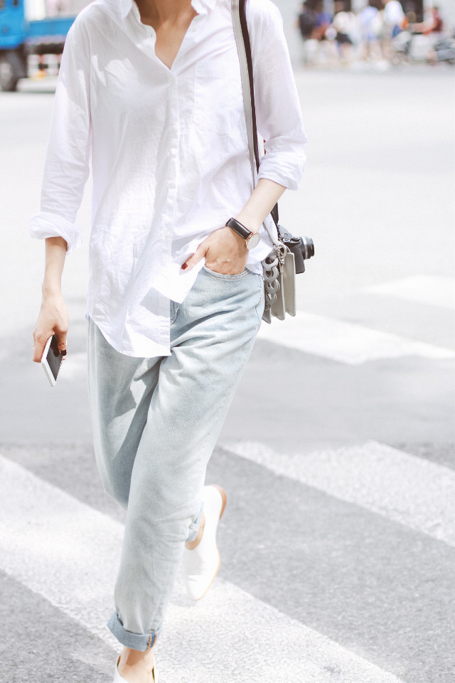 C daily look #wppwhite #fashion #style #streetsnap #people #ootd